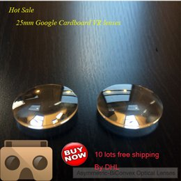 Wholesale google cardboard VR lenses mm D biconvex lens mm FL lens factory