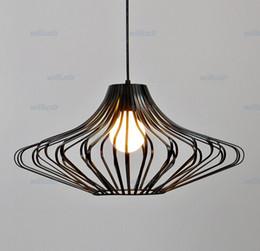 UFO iron art cage pendant lamp UFO pendant light suspension lamp hang lighting fixture dinning room kitchen sitting room cafe bar deli lamp