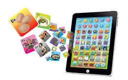 Wholesale Newest Touch Screen Y Pad English Learning Laptop Computer Game Music Phone Learning Machine Baby Kids Educational Tablet Toy
