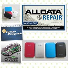 Wholesale 2016 Newest Alldata auto repair Software mitchell manager vivid workshop alldata in1 in GB HDD one year warranty best price