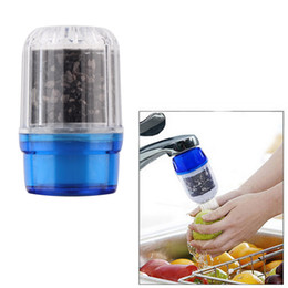 Wholesale 250pcs New Anion Charcoal Activated Carbon Tap Water Water Purifier Use For Kitchen Faucet Tap Water Filter Purifier Home Tool