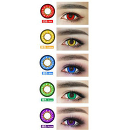 Wholesale US Stock Bella Sky Series Cosplay Super Colored Cosmetic Eye Contacts Colorful Lenses
