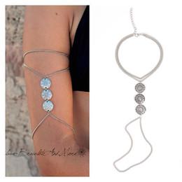 Wholesale-Vintage Indian Upper Arm Bracelet Antique Coin Bracelets for Women Fashion Jewelry BL063