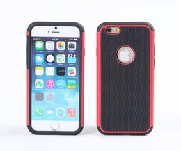 Wholesale for iPhone Defender Case Hybrid Shock Proof Rugged Armor Cases Cover for iPhone6 G Plus Galaxy S5 DHL free