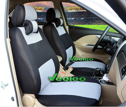 7 Colors Universal Seat Cover For Honda Fit Civic Accord Spirior Stream With Breathable Material+Logo+wholesale+Free Shipping