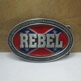 BuckleHome Fashion rebel belt buckle with pewter finish FP-03590 suitable for 4cm wideth belt free shipping