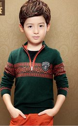 Wholesale-Free shipping children's clothing pullover sweater