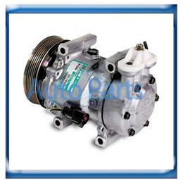 SD6V12 ac compressor for FORD FIESTA FUSION MAZDA 2 DIESEL 1148865 1321791 2S6119D629AD 2S6119D629AE