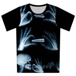 Wholesale-Brand 3D T Shirt Men Large Plus Size 6XL10 Models Skull Printed Short Sleeve Cartoon T-shirt Men Hip Hop Tops Tees Camisetas