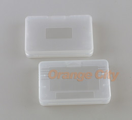 Clear Plastic Game Cartridge Cases Storage Box Protector Holder Dust Cover Replacement Shell For Nintendo GBA SP Game Boy GameBoy GBA