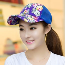 Wholesale-Free Shipping 2015 Hot Sale New Fashion Summer Cap Baseball Adjustable Ourdoor Sport Hat For Women Baseball Caps