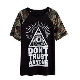 Summer style 2016 New Fashion Women's t shirt special eyes camouflage printed t shirt Casual Women Tops Tee Plus sizes 3XL