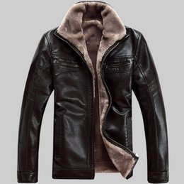 Free shipping Men's brand luxury fur sheep leather men's fur coat very warm in winter leather jackets