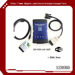 Wholesale With wifi card NEW GM MDI WORK Vauxhall Opel MDI Tech OEM Level Diagnostics GM MDI TECH without software DHL free