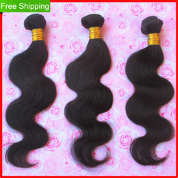 Unprocessed 6A Brazilian Virgin Hair Weave Body Wave Human Hair Extension 3pc 4pc Lot Hair Products
