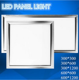 Square LED Panel light 300x300 18w 300x600 18w 24w 300x1200 38w 48w 600x600 38w 48w 600x1200 mm 72w Warm Cold White Ceiling Lights