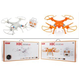 SYMA X8C quadcopter 4CH 6-Axis Gpro 2.4GHz RC drone helicopter quadcopter Drone with 2MP 2.0MP camera RC helicopter with retail box