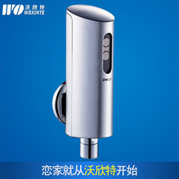Wall-mounted sensor hand-washing Automatic Faucet Single cold DC medical device surface mounted after the water wash