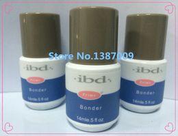 Wholesale IBD Non Acid Nail Bonder Primer Prime Base UV gel Glue For nail art salon oz ml High quality amp Air post shipping
