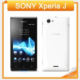 Wholesale Sony Ericsson Xperia J ST26i ST26 Cell phone GPS Wi Fi MP quot TFT Capacitive Touchscreen Android OS EMS DHL