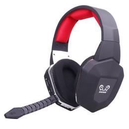 Promotion casque stéréo xbox Fibre optique stéréo-HUHD gros Wireless Jeu Vidéo casque avec microphone détachable pour Xbox One / Xbox 360 / PS4 / PS3 / PC