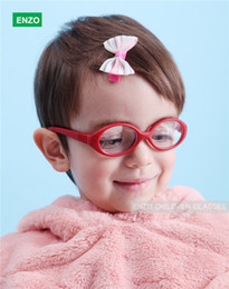 Italian Flexible No Screw Girls Glasses with Cord Size 41mm, Boys Glasses & Strap, Children Eyeglasses, Bendable Baby Eyeglasses