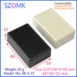 abs switch housing for pcb board small plastic boxes (5 pcs) 80*50*25mm abs control plastic enclosure, plastic industrial boxes