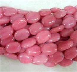 Wholesale Pink x18mm Morganite Oval Gemstone Loose BeadS quot Strand