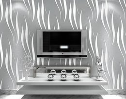 Wholesale 3D Wallpaper Home decor TV background Non woven wall paper roll