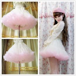 2016 Wedding Skirt Princess Ballerina Skirt Girls Women's Clothing Short Tutu Skirt Tulle Cheap Online Party Wear Summer Wedding Outfits