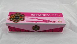 Wholesale 2015 new Infrared hair iron by croc for advanced professionals Straightener Turboion Flat Iron Styler freeshipping by dhl