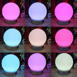 Mini Wireless Magic Smart LED Lamp Bulb Alarm Bluetooth Music Speaker Brand New