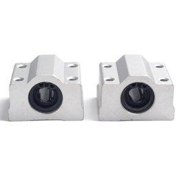 Wholesale 2x SC8UU SCS8UU Linear Motion Ball Bearings Slide Block Bushing For mm Linear Shaft Guide Rail CNC Parts