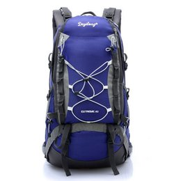 7 colors 50L New 2015 waterproof travel bags Men outdoor climbing bag backpacks camping bags hiking professional climbing bag