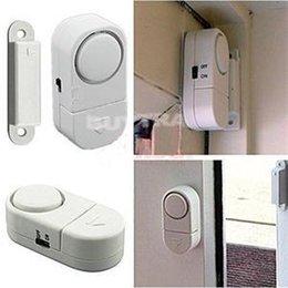 Promotion entrée de la porte de sécurité 2014 New HE pratique Wireless Home Security Entrée porte fenêtre Système d'alarme d'alerte capteur magnétique EH