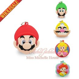 Wholesale New Mixed Mario Bros Charms Pendants for Bracelets DIY Making Keychains Pendant Phone Pendant for Party Gifts