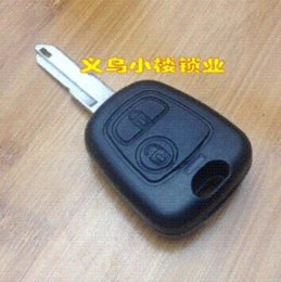 Wholesale high quality Peugeot car buttons remote key shell shell laminate shell bathroom shell bathroom