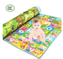 new arrival Crawling mat thickening baby crawling pad game pad climb a pad play foam mats crawling baby blanket