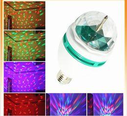 2015 DHL Free La nouvelle LED petite boule magique en cristal éclairage acoustique scène lampe KTV sept lumières partout dans le ciel étoiles rayons laser de la lumière à partir de lumière magique étoile fabricateur