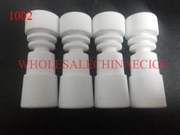 14&18mm domeless ceramic nail with female joint and titanium nails vs titanium nail honey bucket quartz nail