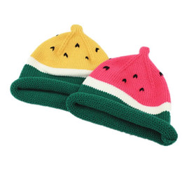 Unisex Kids Beanies Children Boys Watermelon Design Knit Hats Kid Girls Winter Warm Caps L007 Yang