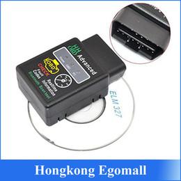 Wholesale HH OBD ELM Advanced Bluetooth ODB2 ODBII Bluetooth V1 Car Auto Diagnostic Scanner Tool