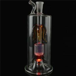 Eaux fraîches en Ligne-Cool Mini 5 '' pouces Shining Bong Verre Tubes d'eau Percolateur 10mm Cendriers Bong Vortex Shiny Oil Rigs Tuyaux d'eau Narguilés Tuyaux
