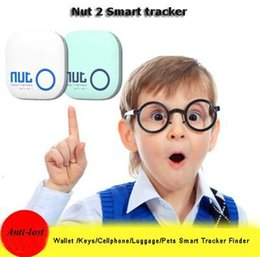Wholesale Bluetooth tag Nut Anti lost alarm network Wireless Bluetooth Key Finder Smart Bluetooth Tracer for iPad air mini iPhone plus S6 S5