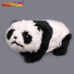 """Oreillers panda en peluche à vendre-cadeau livraison gratuite Ultra Kawaii peluche Panda Jouets cadeaux enfants """"Simulation de panda emulational panda en peluche peluche filles oreiller"""