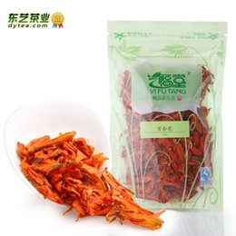 Wholesale 50g Dongyi herbal tea superfine lily tea soothe the nerves g Detox beauty Anti Aging herbal tea flower bags clear fire