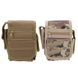 Wholesale New Small Waist Pack Outside Sport Debris Tactics Service Bag for Military Soldier Riding Mobile Phone Lightweight Portable Y0335