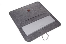 Wholesale Fashion Wool Felt Sleeve Carrying Case pouch bag for Microsoft Surface Pro Pro