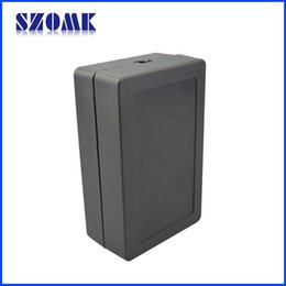 4 pcs lot, new plastic szomk instrument enclosure box 80x50x28mm electrical outlet boxes project box
