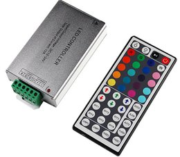 Wholesale RGB LED Controller with keys Remote controller for SMD5050 RGB Led Strip Light DC12V V A A W